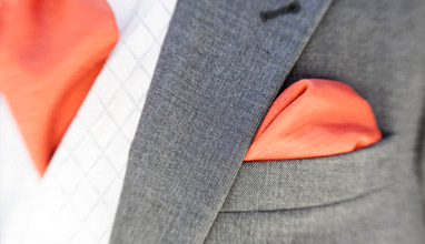 The Gentleman's wardrobe: The pocket square