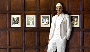 Roger Federer is Most Stylish Man June 2016 in Sports