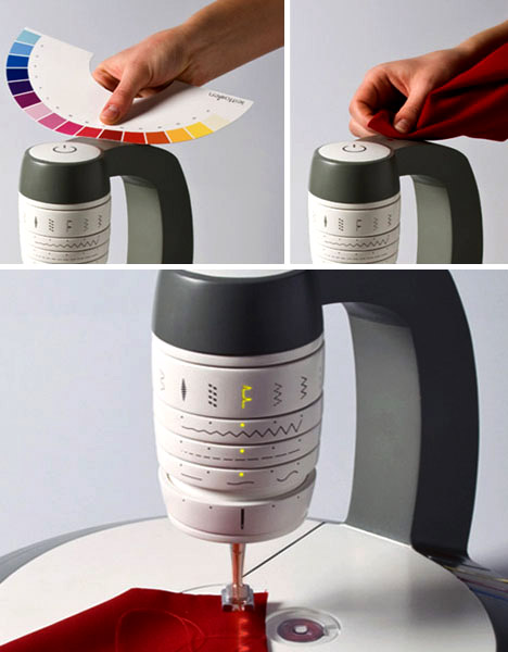 The sewing machines of the future