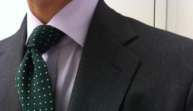 Ризата в трио с вратовръзката и сакото