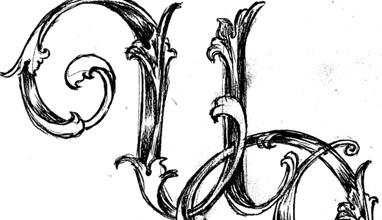 Menswear details: Monograms