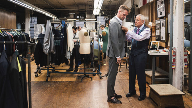 Popular custom tailors in New York