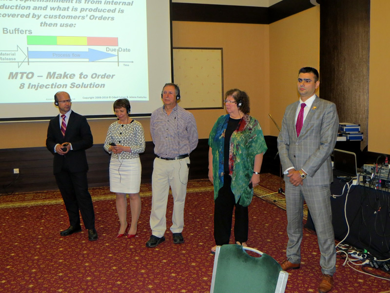 The First International TOC Conference in Bulgaria was held by TOCICO