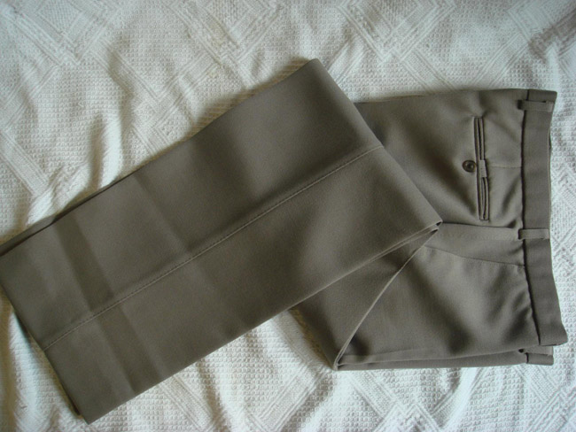 From Cavalry twill to Moleskin - trousers for a Sports jacket