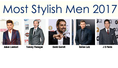 Most Stylish Men May 2017 winners - Adam Lambert is in the lead again