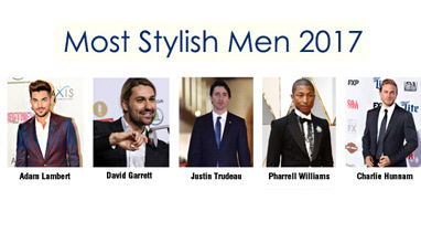 See who are Most Stylish Men September 2017