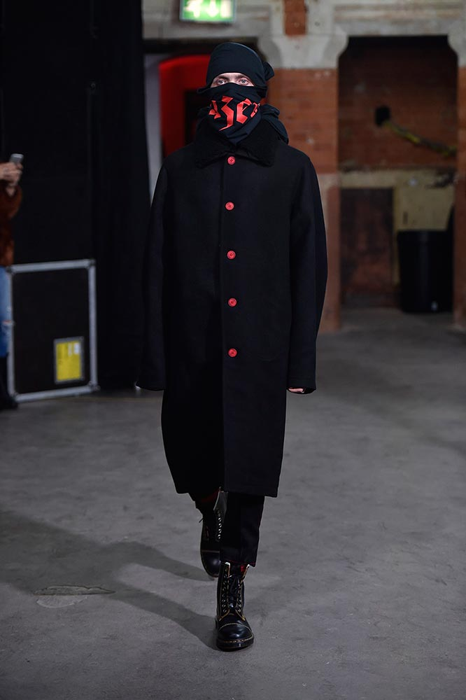 Agi & Sam presented Fall/Winter 2017 collection during London Fashion Week Men's