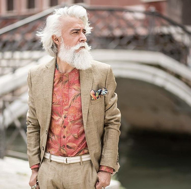 Alessandro Manfredini - the man who became famous with his beard