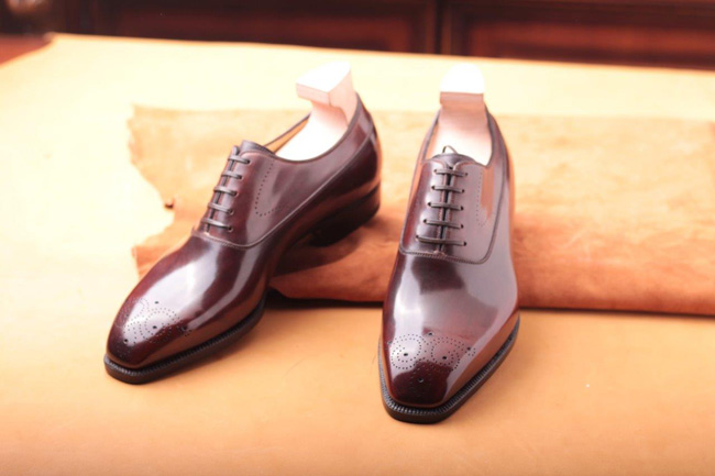 Italian bespoke shoes by Antonio Meccariello