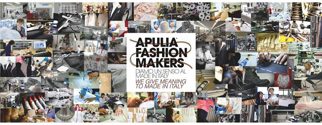 Apulia Fashion makers - manage to bring together hundreds of TCF sectors