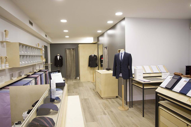 French made-to-measure suits by Atelier NA