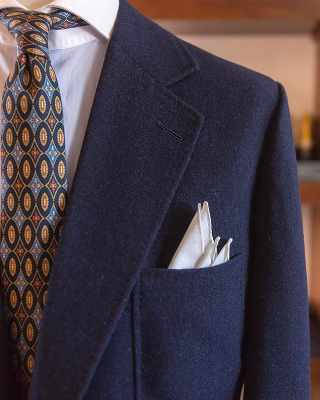 Lisbon based bespoke tailor Ayres Goncalo