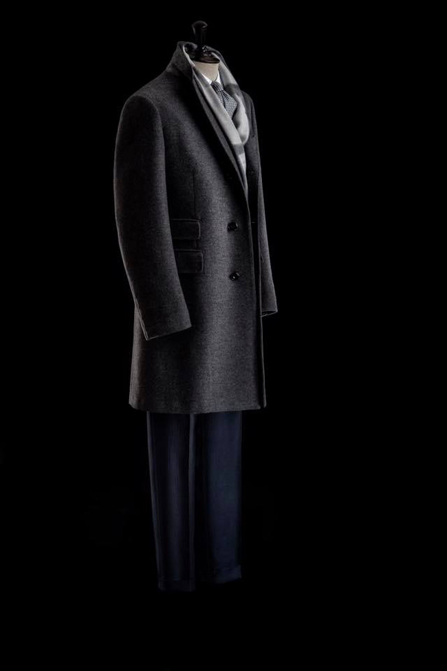 Battistoni presented at Pitti Immagine Uomo 91 the new Fall/Winter 2017 Collection