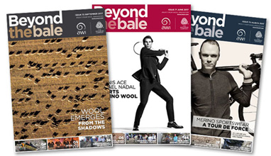 Beyond the bale - the magazine of Woolmark