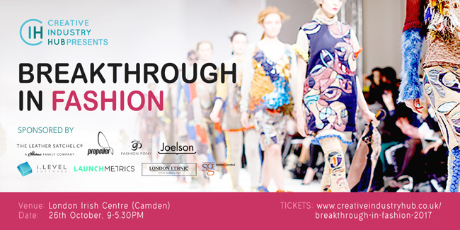 Get Low-Priced Tickets For 'Breakthrough in Fashion' 2017