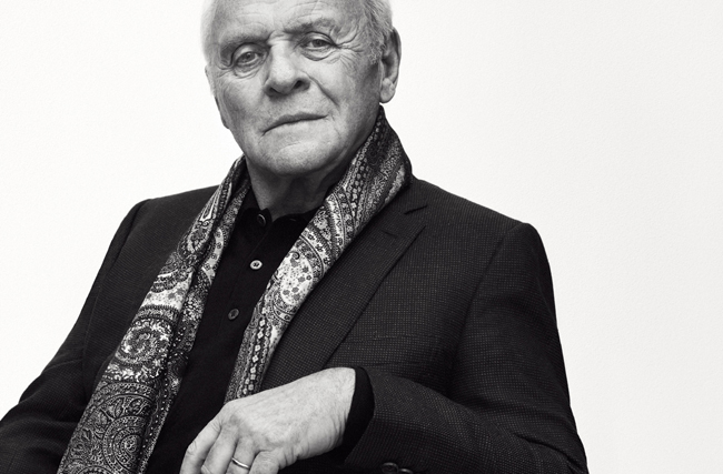 Sir Anthony Hopkins stars in Autumn/Winter 2017 campaign of Brioni