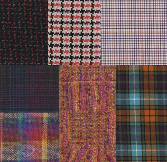 British colours and textiles Autumn/Winter 2018-19