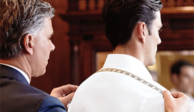 Designed by you, made for you - tailored garments by Brooks Brothers