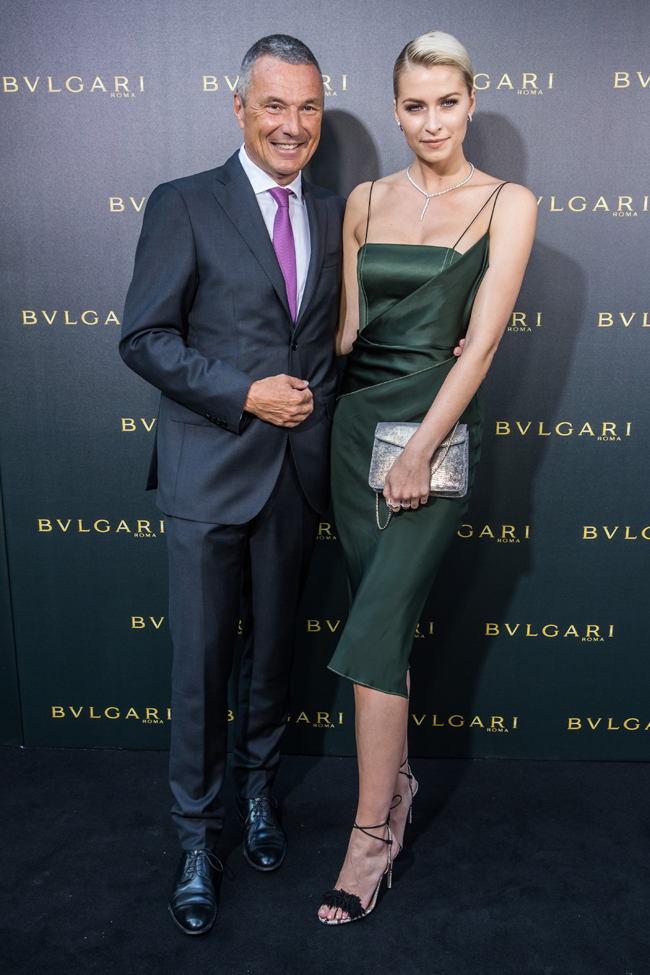 BVLGARI hosts a red-carpet gala to reveal its new boutique on Frankfurt's prestigious Goethe Strasse