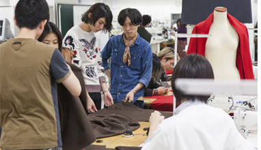 Bunka Fashion College - study in Japan