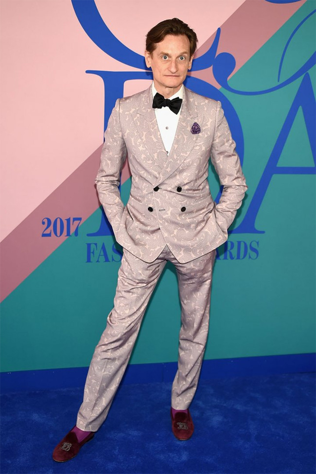 Best dressed men at CFDA Awards 2017