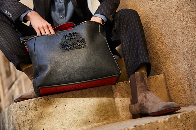 Christian Louboutin's newest men's bag - Cabado