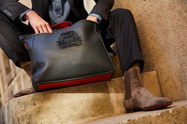 Christian Louboutin's newest men's bag - Cabado