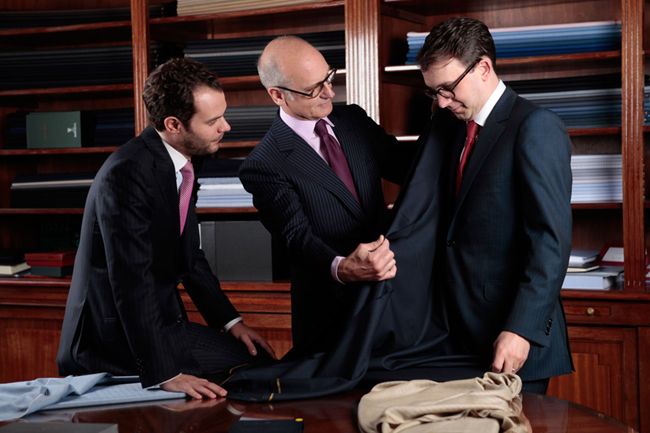 French Bespoke suits by Camps de Luca