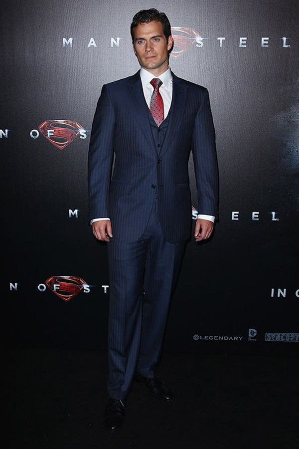 Celebrities' style: Henry Cavill