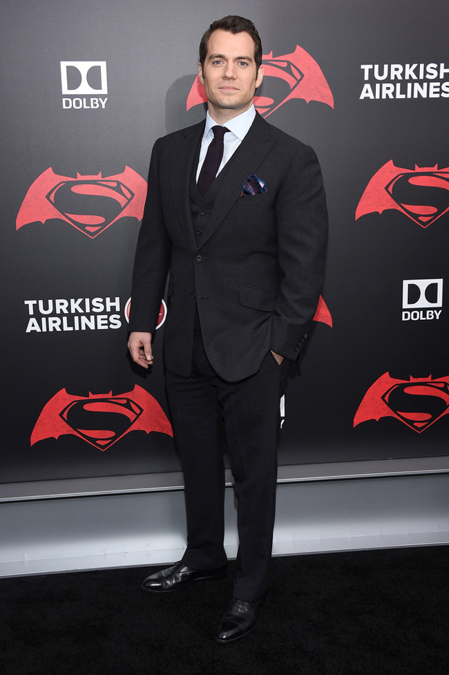 Celebrities' style: Henry Cavill