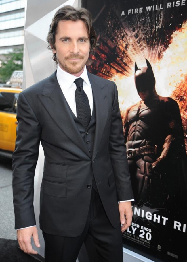Celebrities' style: Christian Bale