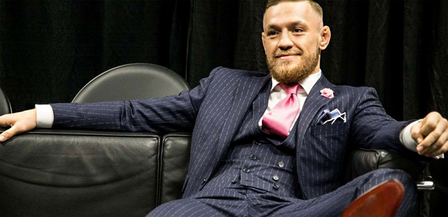 how to get your own conor mcgregor f you suit. Black Bedroom Furniture Sets. Home Design Ideas