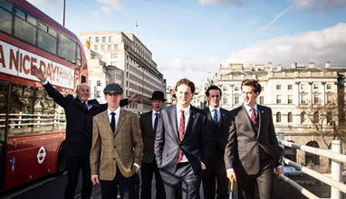 English tailored suits by Paul Costelloe