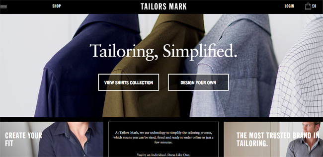 Where to order a custom-made men's suit online?