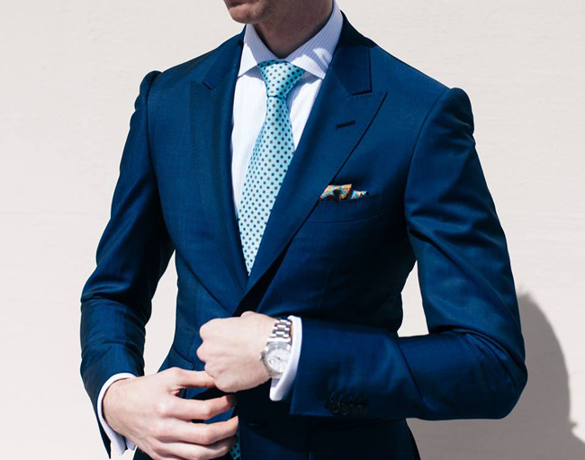 Bespoke suits in California by Devan Vincent
