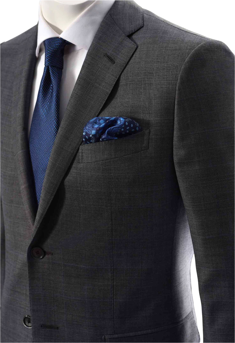 Dormeuil introduces Exel Blue