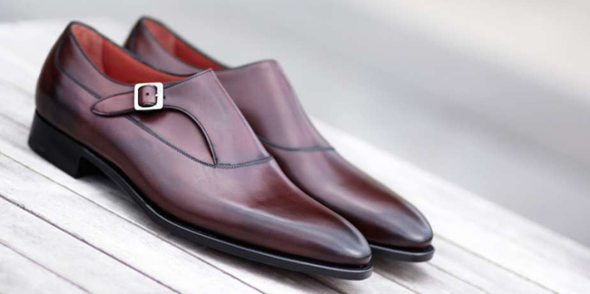 Edward Green shoes - cut by hand from the world's finest leathers