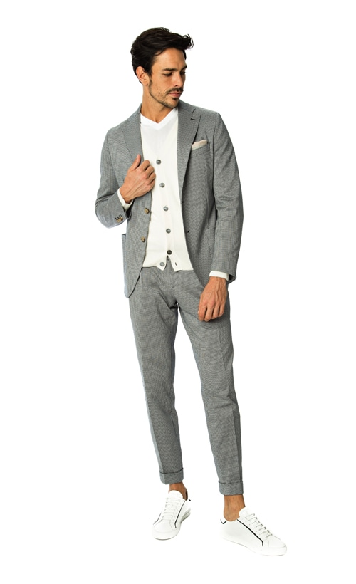 Italian men's suits by Eleventy