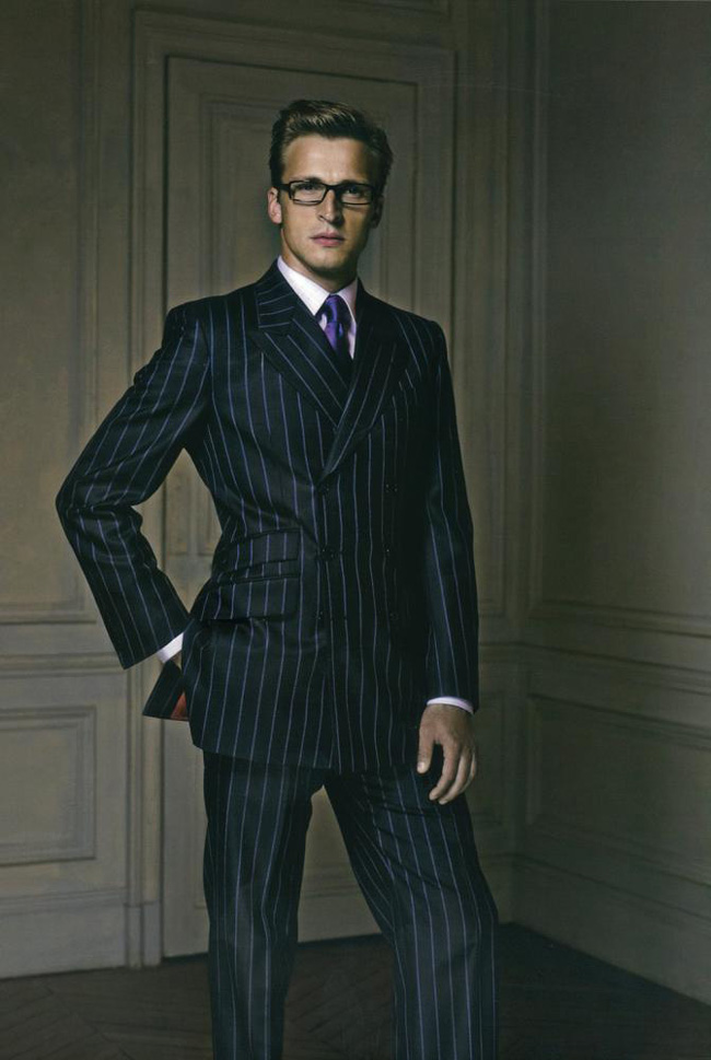 The etiquette of wearing tailor-made suits by Philipp Alexander