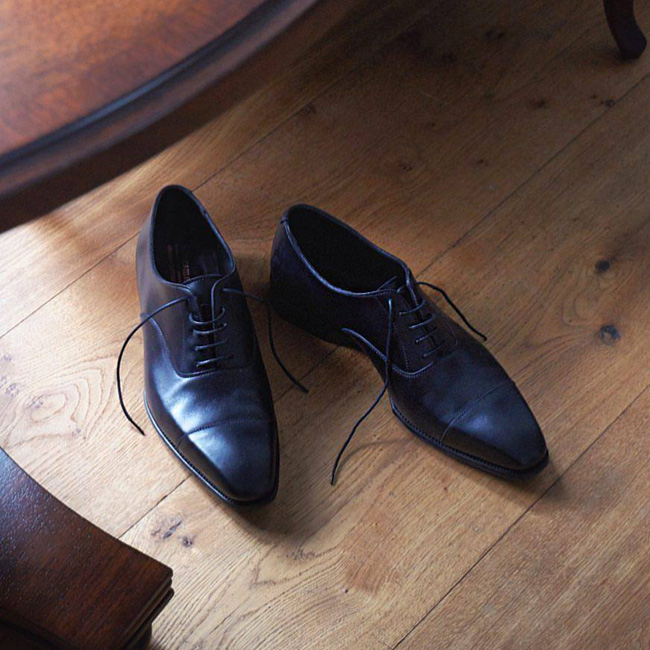 English shoes by George Cleverley