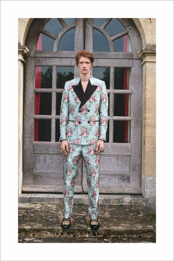Gucci Cruise 2017 - the English Mania