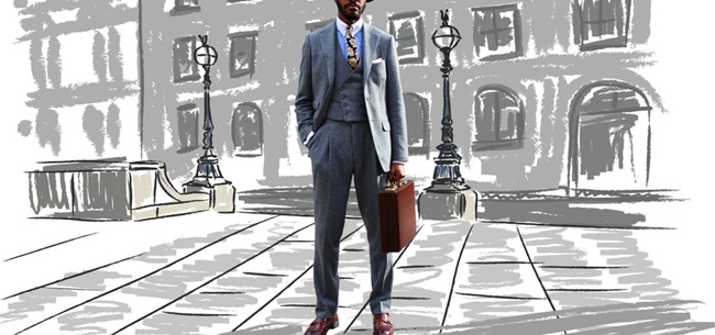 British tailored suits by Guy Field