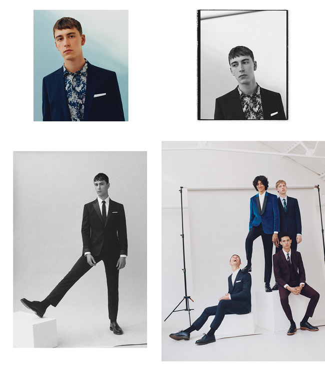 Topman in a collaboration with Charlie Casely-Hayford