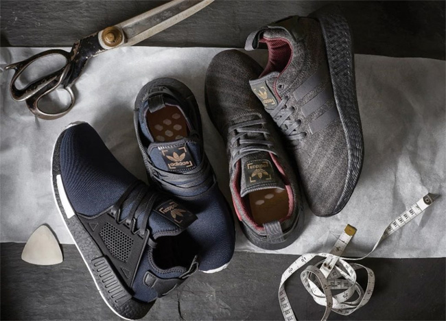 adidas in a collaboration with Savile Row tailor Henry Poole