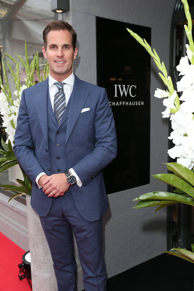 IWC Schaffhausen celebrates boutique opening in the heart of Munich