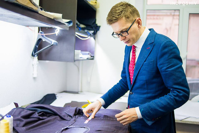 Ukrainian bespoke suits by Indposhiv