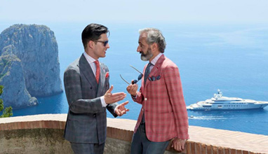 ISAIA Spring/Summer 2017 collection
