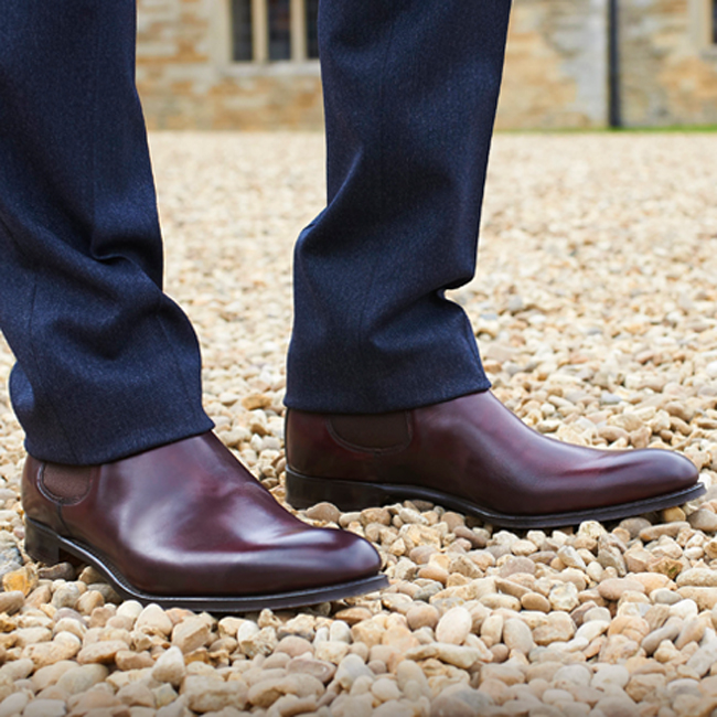 British quality men's shoes by Joseph Cheaney and Sons