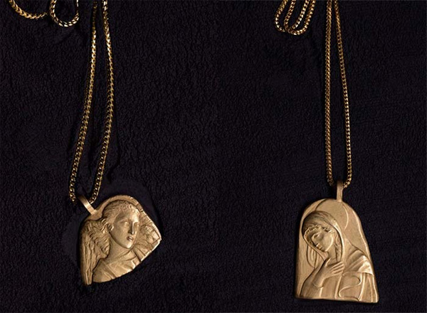 Kanye West released jewelry collection