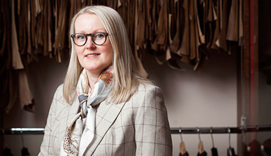 The first woman at Savile Row - Kathryn Sargent
